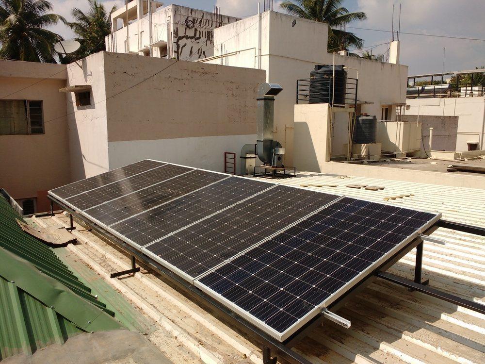 2kw Off Grid Solar Rooftop System Jayanagar Ecosoch Solar