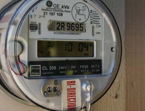 How to read a Bidirectional meter?