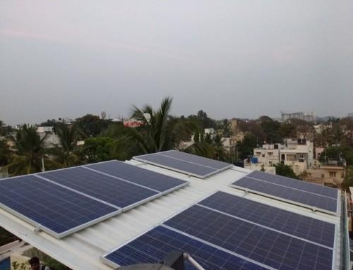 3kW On Grid system Banashankari, Bangalore