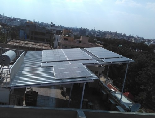 7kW On Grid system HRBR Layout, Bangalore