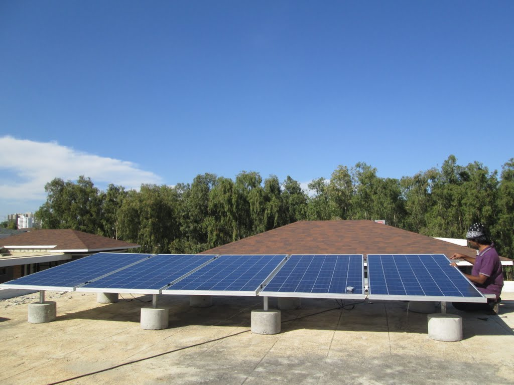 35kw Off Grid Solar Pv System For Home Whitefield Bangalore With Panel Bypass Schematic Project Gallery