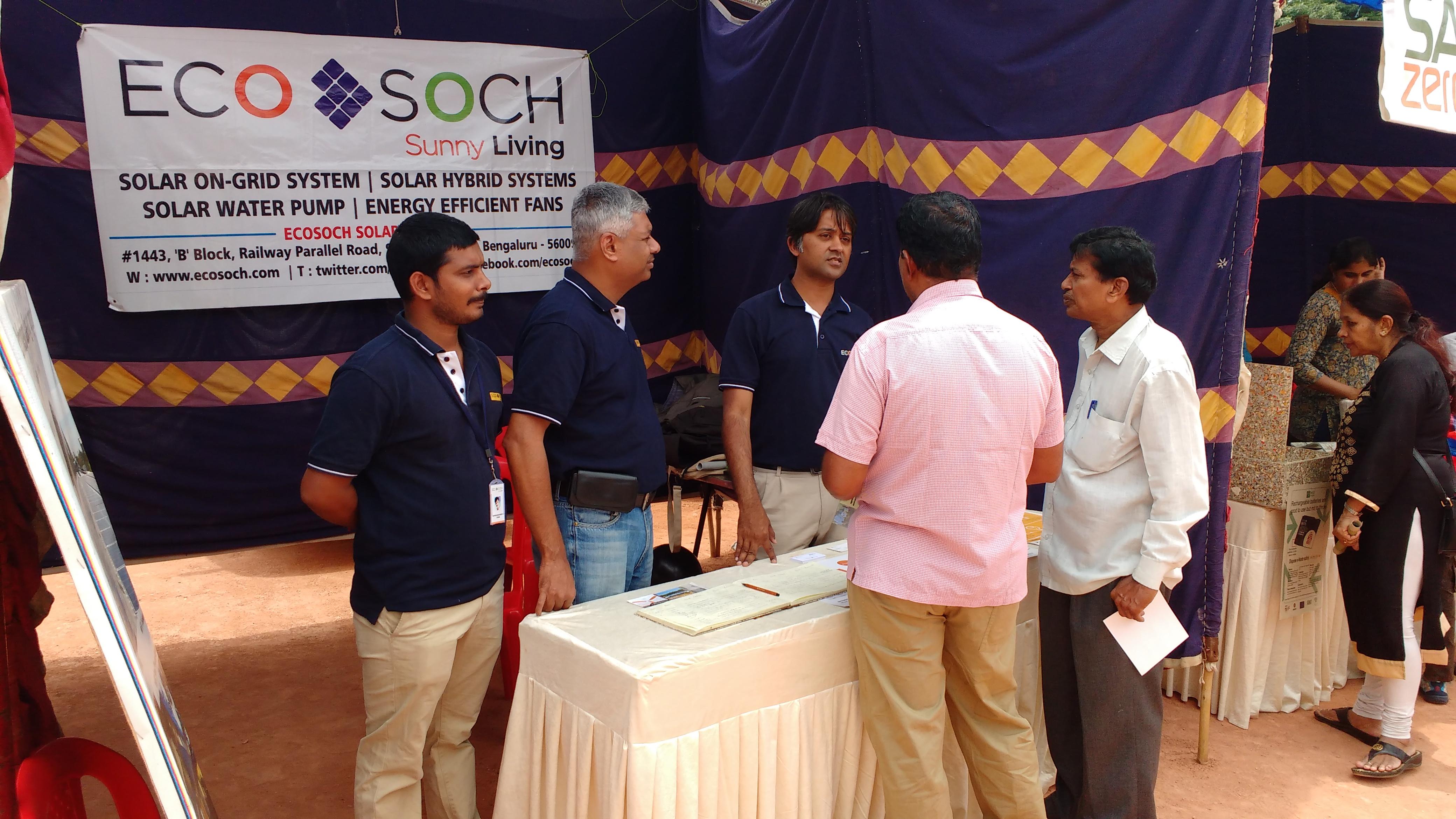 Jal Vayu Vihar Annual Day Celebrations Ecosoch Solar