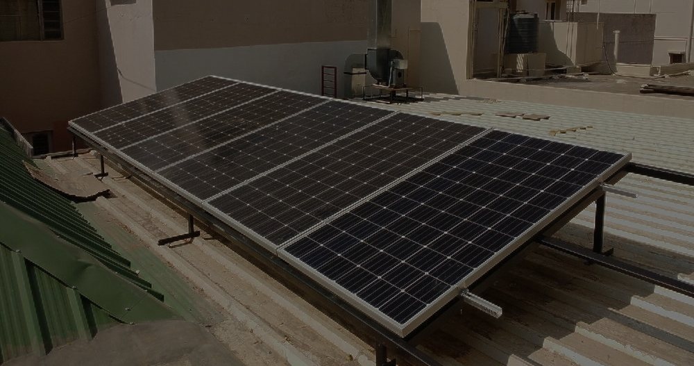 3 5kW Off Grid Solar PV System for home, Whitefield, Bangalore