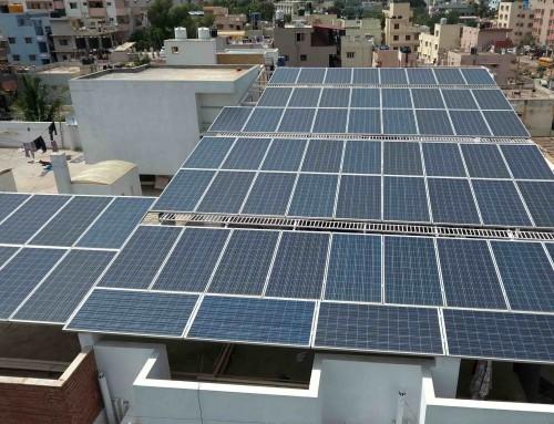 18.8kW Solar Rooftop System, PG Hostel, Marathahalli