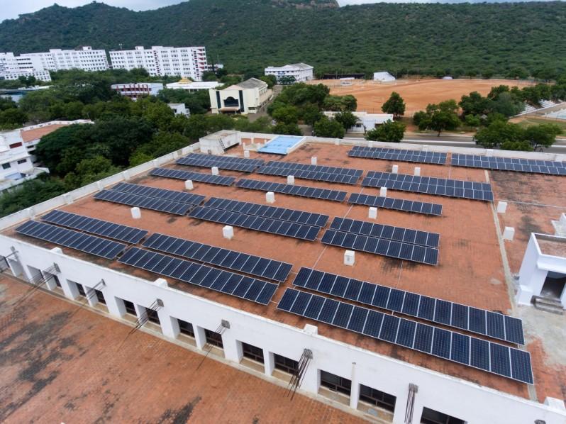 Kalasalingam University Tamil Nadu Ecosoch Solar