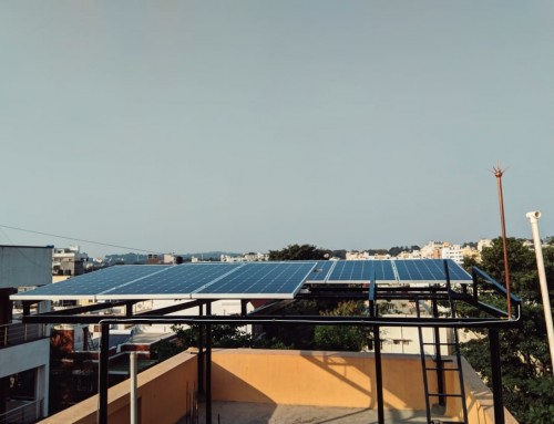 2.8 kWp On-Grid System with Micro-Inverters- Dinesh Pulliyakote, Bangalore