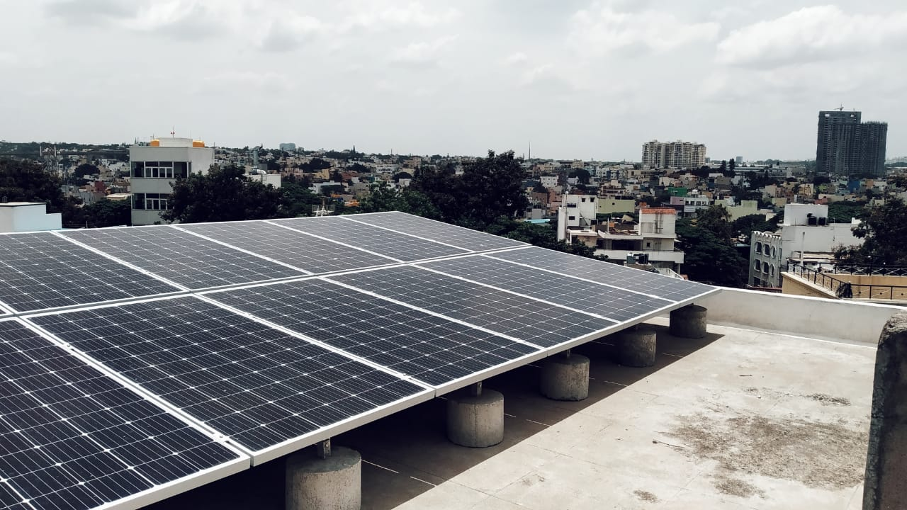 Solar RoofTop for Homes, Apartments & Commercial Bangalore - EcoSoch