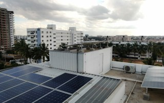 Solar Panel Installation for Commercial Building in Bangalore