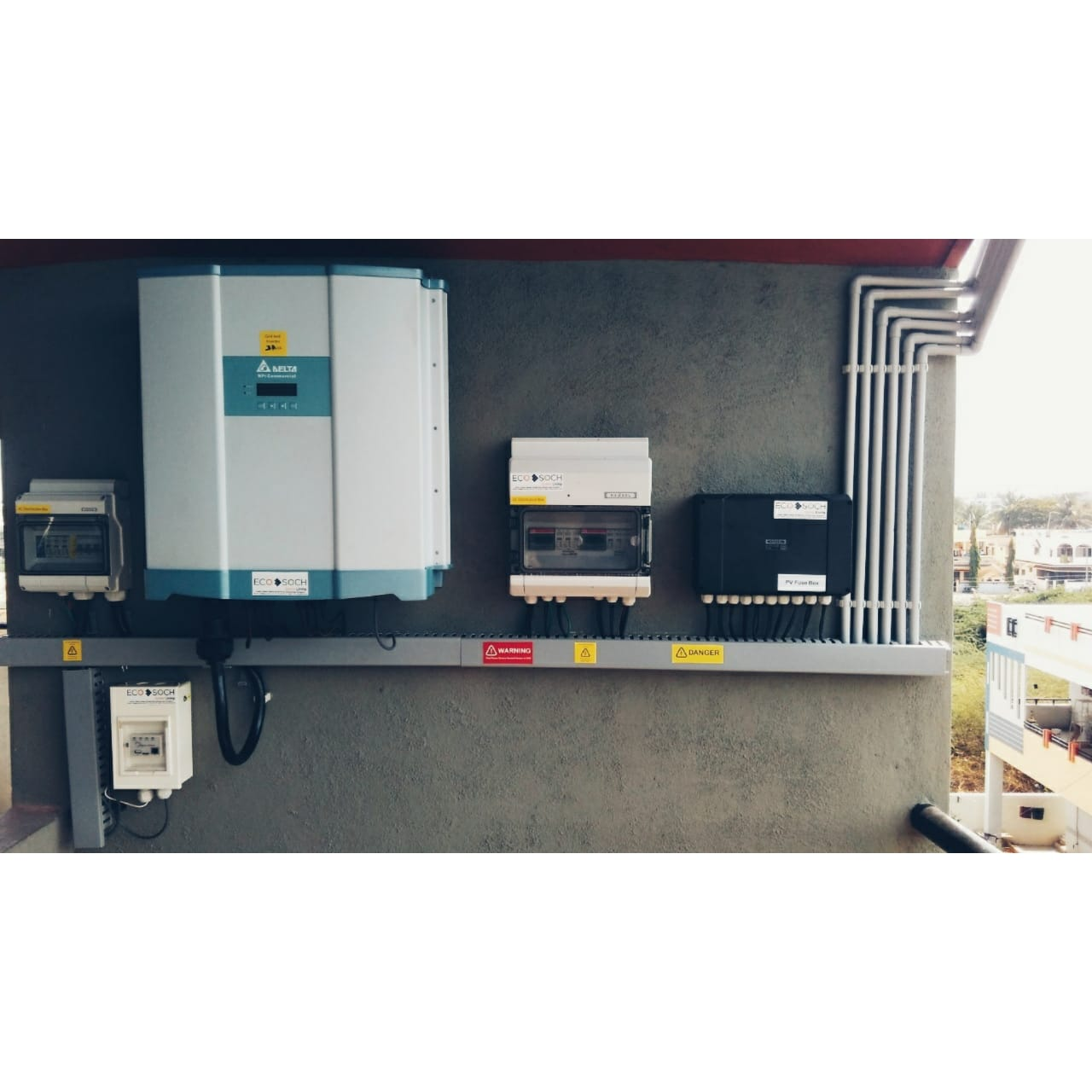 Inverter and electrical accessories