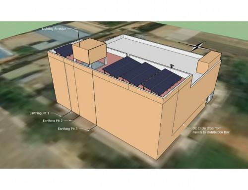 Solar Rooftop system – AKR Logistics