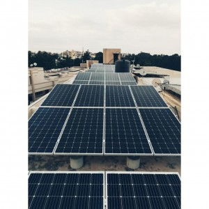 Solar Panels on the rooftop of Vars Notting Hill Apartment