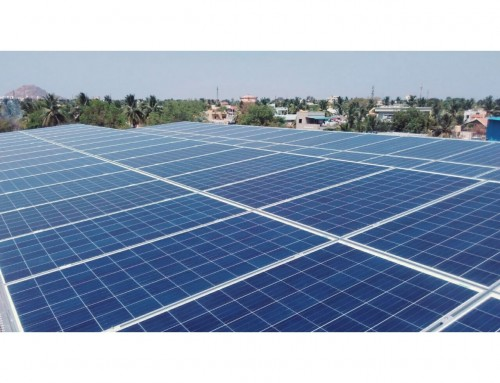 34 kWp Solar PV System – Apartment community in Bellary, Karnataka