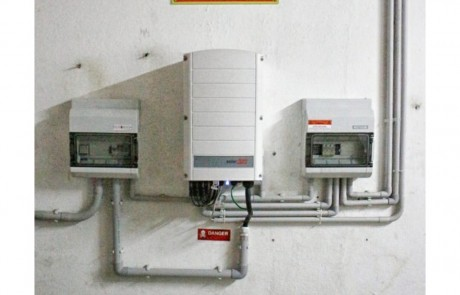 Solar Edge Inverter at RP3