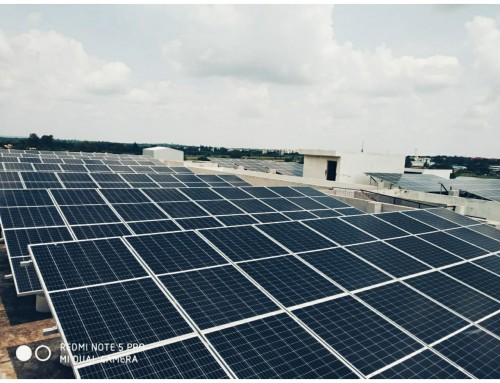 Solar for Institutes – Case study NTTF 100 kW Project