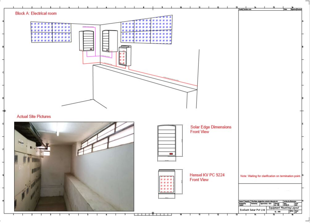 Engineering Drawing prepared by team