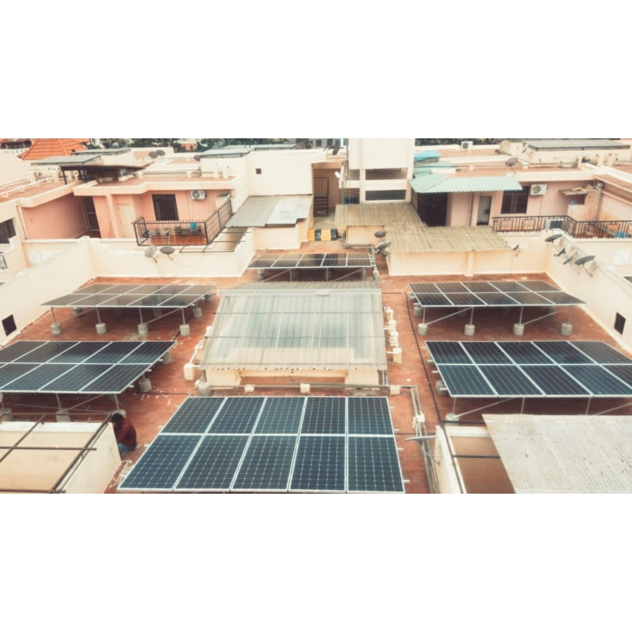 Solar Panels installed at site