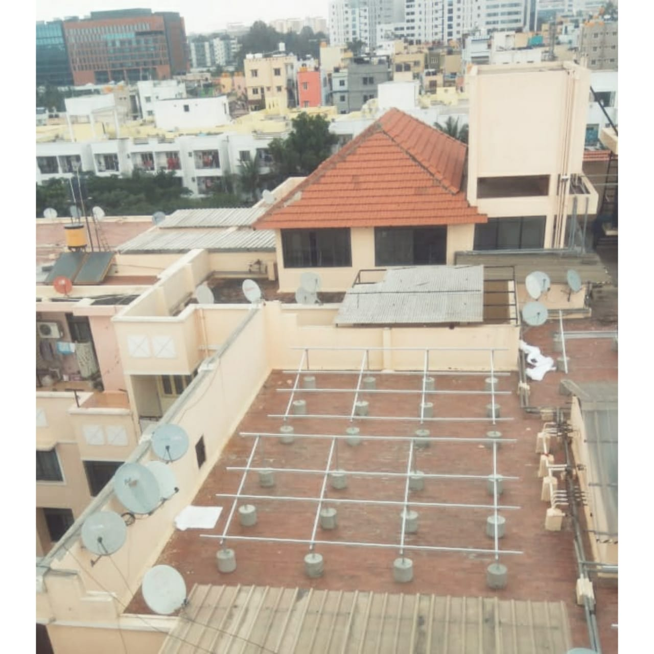 Non penetrating solution for apartments